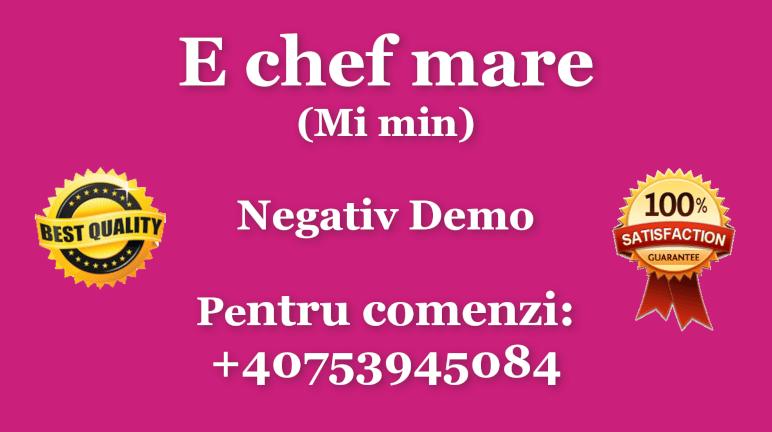 E chef mare – Mi minor – Negativ Karaoke Demo