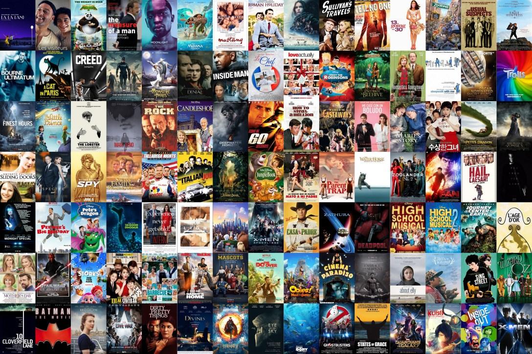 i saw 100 movies