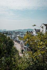 huangshan city view