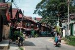 Straßen der Kleinstadt