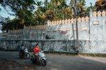 Werbung auf Tempelmauern