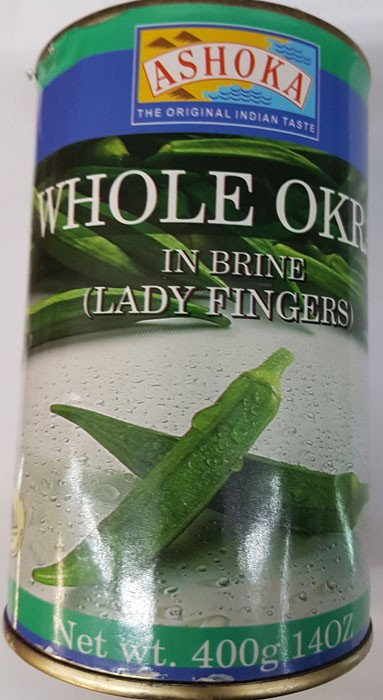 ASHOKA Whole Okra, 500g