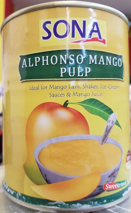 SONA Mango Pulp, 850g
