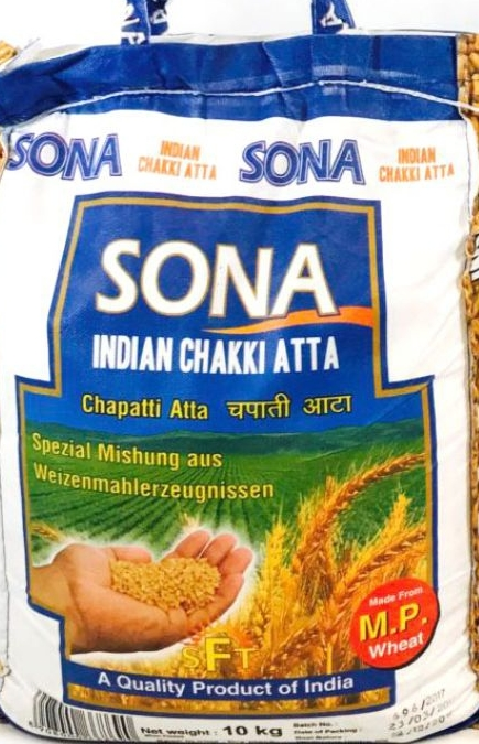 Sona Atta, Chapati , Chakki, Desi Atta, Tukwila Online Indian Grocery Store in Germany