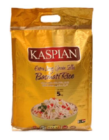 Kaspian Sella Parboiled Basmati Rice