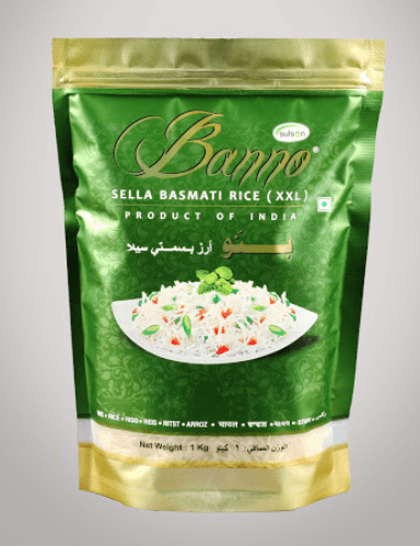 Banno Green Sella Basmati Rice Rice 1kg-Tukwila Online grocery in Germany