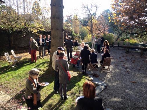 Superbe soleil de novembre pour un brunch en terrasse