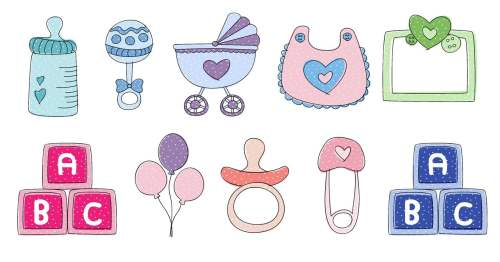 small resolution of free downloads baby shower clip art you can use these templates for a boy