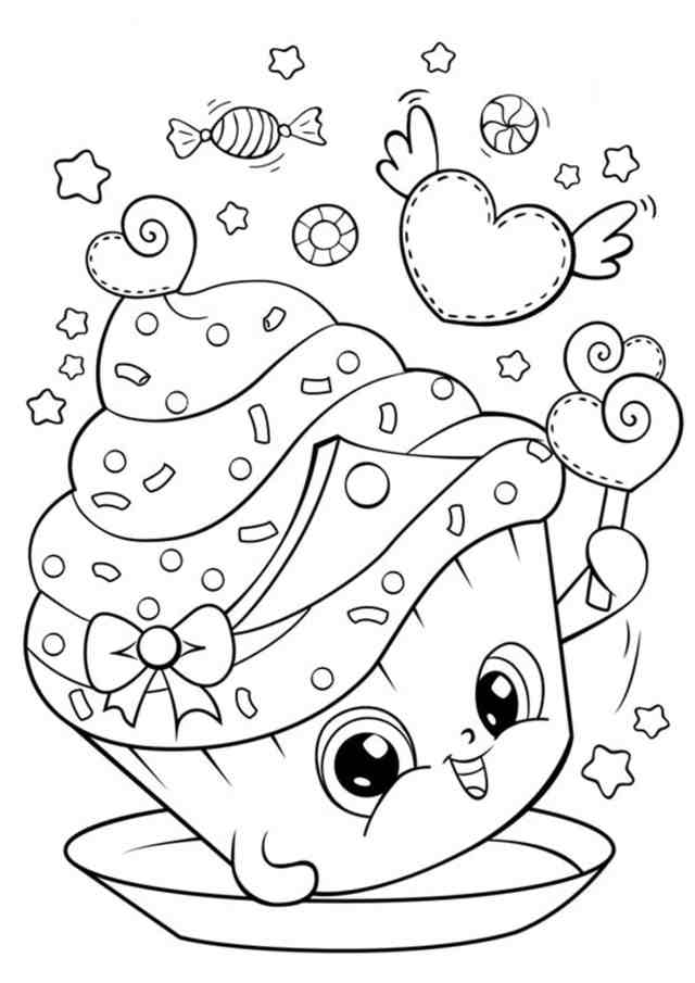 Free & Easy To Print Cute Coloring Pages - Tulamama