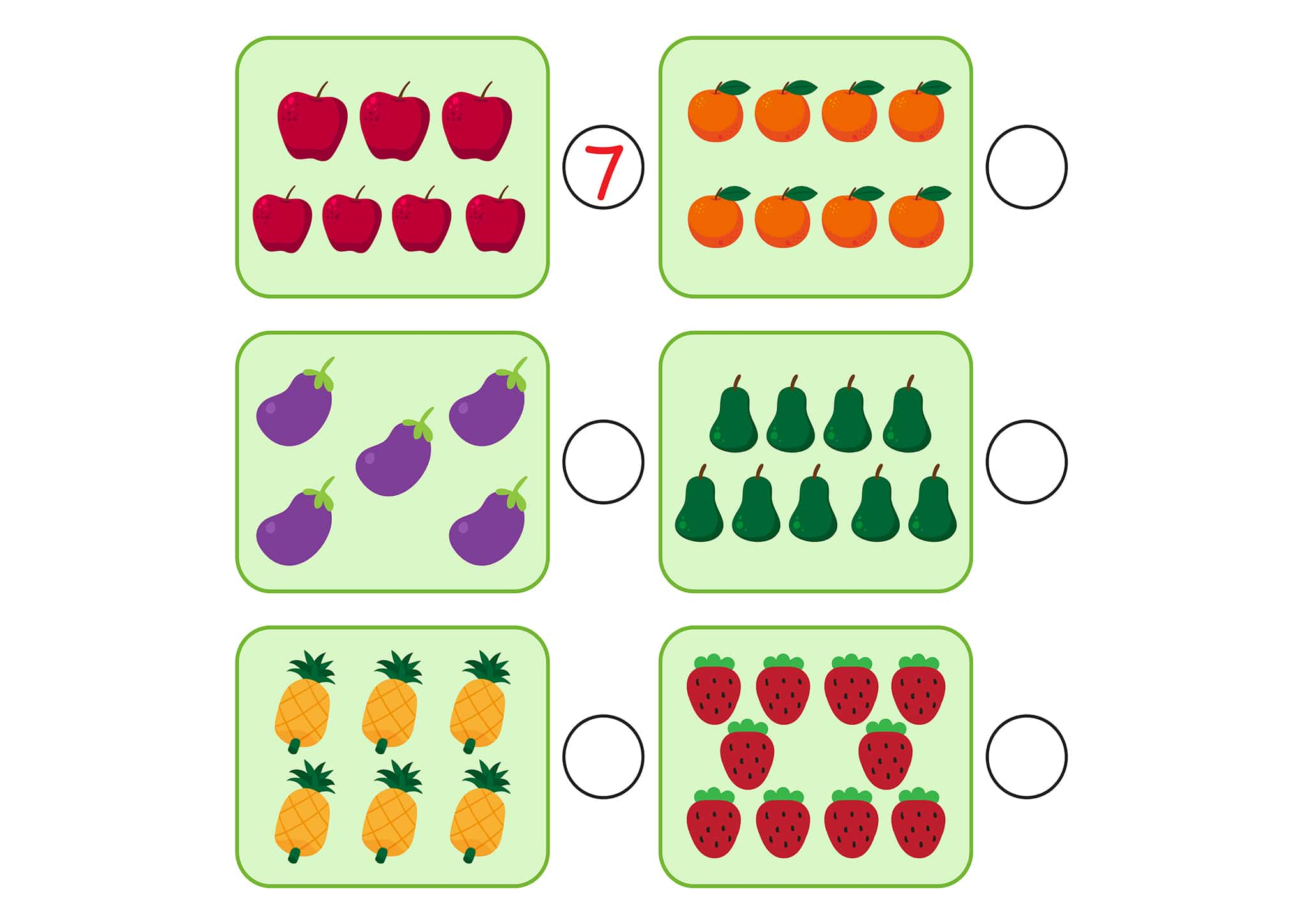 Free And Easy To Print Counting To 20 Worksheets