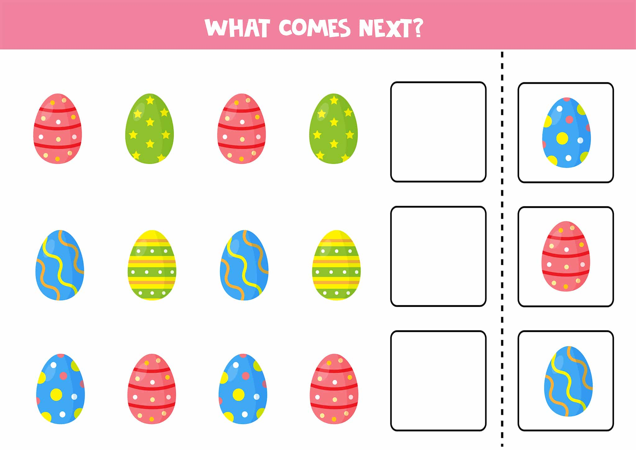 Free Printable Easter Worksheets For Little Ones