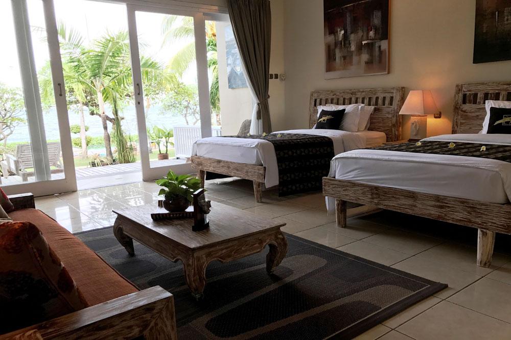 bali tulamben hotel resort zimmer