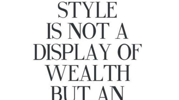 Fashion is More Than What Meets the Eye