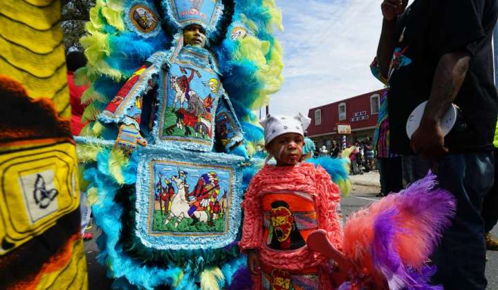 Online Social Democracy, Cultural Appropriation and…the Mardi Gras Indians?