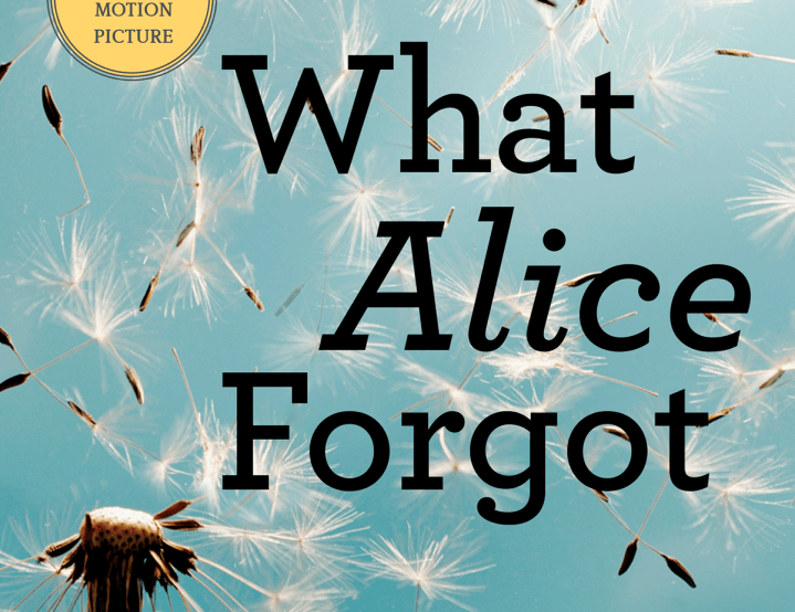 """The Crescent Book Club: """"What Alice Forgot"""""""