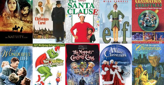 My Go-To Christmas Movies