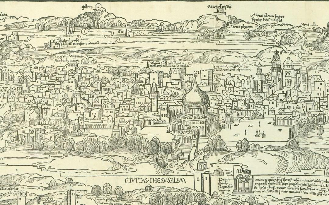 Los viajes a Tierra Santa en los siglos XVI y XVII.
