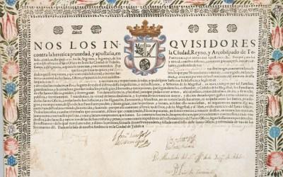 Celebrando Yom Kippur en el Toledo de Felipe II