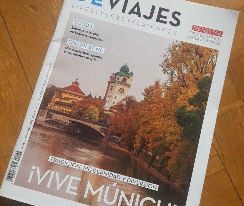 Reportaje en la Revista De Viajes (Noviembre, 2020)