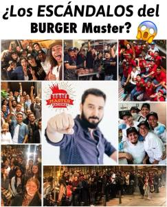los escandalos del burger master