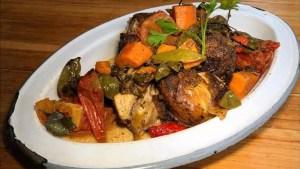 ¿Este pollito «ASADO»? de lo más rico que he comido en Bogotá