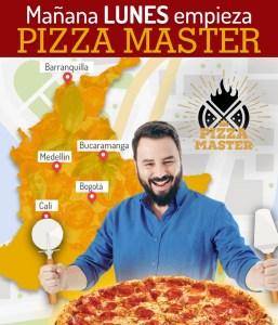 mañana empieza el pizza master