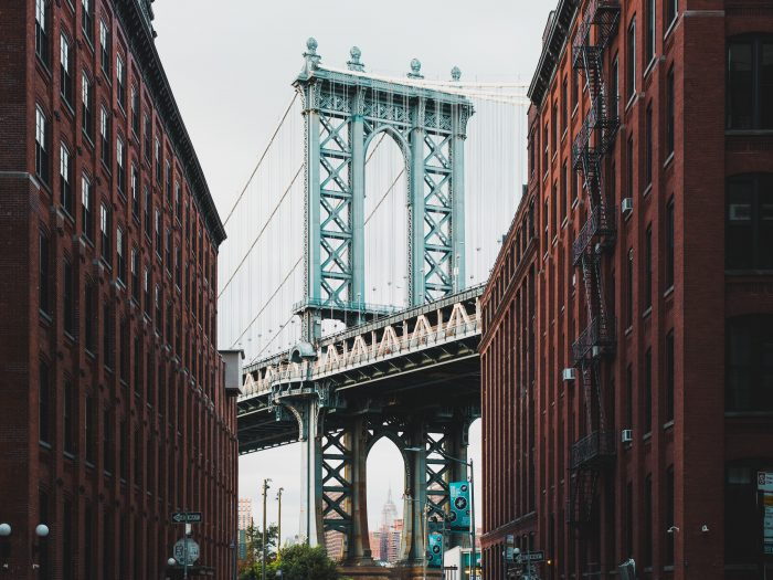 Manhattan Bridge. Brooklyn