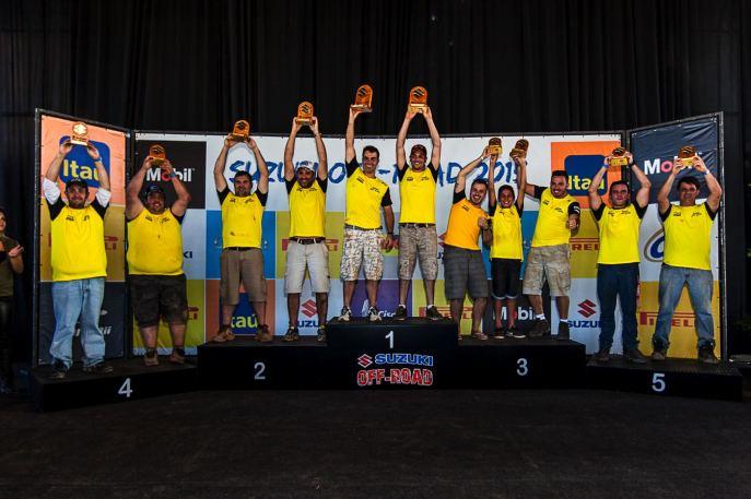Premiação Extreme. Foto: Divulgação Suzuki