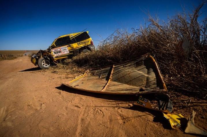 Acidentes marcaram a primeira etapa. Foto: Marcelo Maragni / Webventure