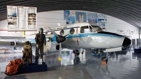 Hangar no Memorial Aeroespacial Brasileiro - MAB