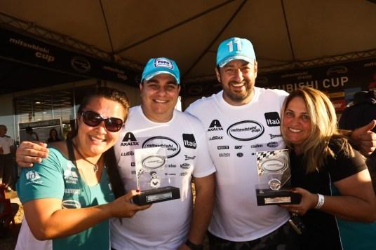 """Fontoura/Malucelli """"dividem"""" com Sandra/Minae o troféu da etapa (Sanderson Pereira)"""