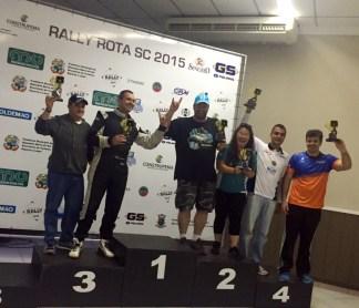 Fontoura/Minae: Vice-campeões da prova na Pró Brasil. Foto: Divulgação