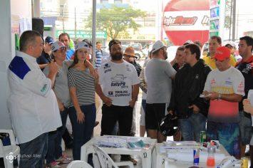 Briefing do Rally Paraná aos competidores (Foto: Myckael Allan)