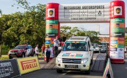 Prova largou do Expoville Crédito: Marcio Machado / Mitsubishi