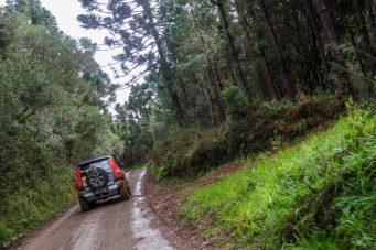 O Rally Rota da Amizade é a primeira disputa do ano em Santa Catarina (Felipe Tesser )