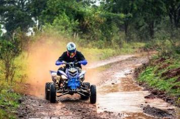Legenda: Richard Amaral foi o mais rápido nos quadriciclos Créditos: Nelson Santos Jr./Photo Action
