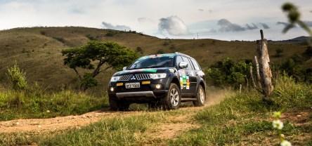 Percurso teve cerca de 200 km Crédito: Ricardo Leizer / Mitsubishi