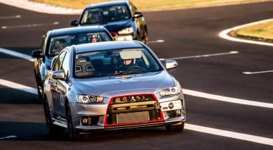 Lancer Evolution X estará nas pistas Crédito: Ricardo Leizer / Mitsubishi