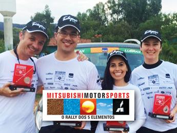 Como foi o Mitsubishi Motorsports em Tiradentes para o Tulipa Rally Team