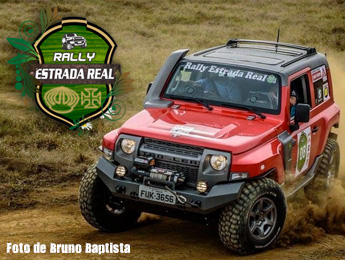 1º dia no Rally Estrada Real