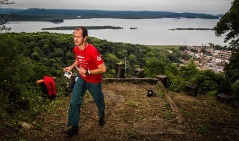 Waldemar Niclevicz estreou na competição Crédito: Tom Papp / Mitsubishi