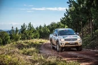 Belas paisagens ao longo da prova Crédito: Ricardo Leizer / Mitsubishi