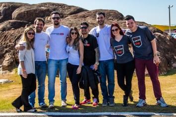 Famílias e amigos curtiram o track day no Velo Città Crédito: Cadu Rolim/Mitsubishi