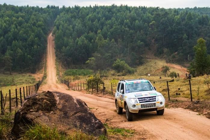 Foram mais de 150 km em meio a belas paisagens Crédito: Cadu Rolim / Mitsubishi