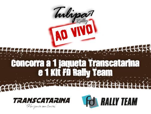 """Promoção """"Eu quero esta jaqueta do Transcatarina ou o Kit da FD Rally Team"""" ENCERRADA!"""