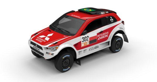 Equipe Ralliart Brasil participará com dois carros no Rally dos Sertões