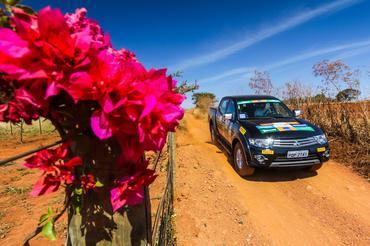 Belas paisagens pelo percurso Crédito: Cadu Rolim / Mitsubishi