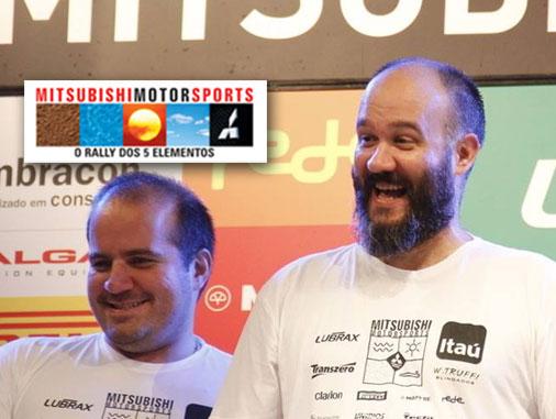 Como foi a etapa de Ribeirão do Mitsubishi Motorsports para a dupla Evaldo e Reginaldo, agora encarando a Turismo!