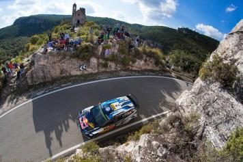 Jari-Matti Latvala (FIN), Miikka Anttila (FIN) Volkswagen Polo R WRC (2016) WRC Rally Catalunya 2016 Photo: Helena El Mokni