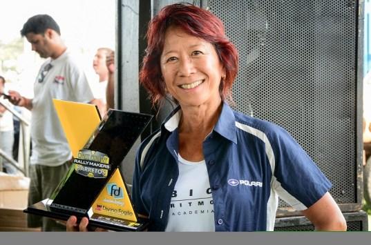 Helena Deyama segue líder na tabela de classificação na categoria Marathon Maste (Nelson Santos Jr/Photo Action)